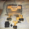 dewalt drills and site radio