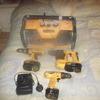 dewalt drills and site radio