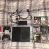 XBOZ ONE WITH 4 CONTROLLERS AND LOTS OF GAMES