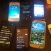 Jod lot of mobile phones
