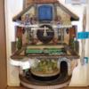 Flying Scotsman train clock