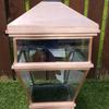2ft antique copper light