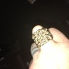 Mans keeper ring 9ct gold 47 grms