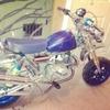 Custom monkeybike