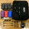 DELKIM TXI PLUS BITE ALARMS X3 PURPLE WITH RX 6 PRO RECEIVER AND EXTRAS... MATCH GEAR..QUAD..SHIMANO