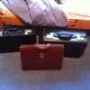 3 leather brief cases