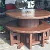 Brilliant reel table and chairs