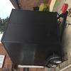 twin wheel aluminium box trailer