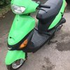 scooter bike ready to go