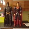 80cm batman and superman figures