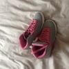 Pink Nike trainers size 5