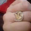 9ct horses head ring