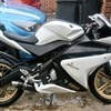 Yamaha yzf r125 vgc low milege