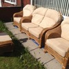 Great condition lovely 5 piece garden set great for conservatory,garden