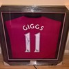 Signed Ryan giggs shirt £100 ono