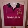 Signed Eric Cantona shirt £110 ono