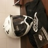 Helmet.white size medium