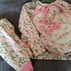 Brand New Girls Fleece Pyjamas, Bag