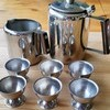 Vintage Stainless Steel Tea Set