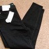 New Girls Black Jeggings 10-11
