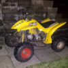 110cc semi auto full size quad