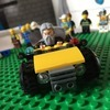 Yellow Lego car