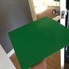 Green Lego Mat