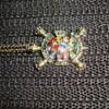 a very nice tortoise on a chain