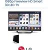 LG 55in 3D Smart TV