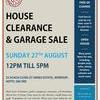 HOUSE CLEARANCE / GARAGE SALE