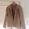Womans leather jacket size 14