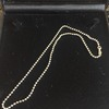 White gold gold chain