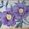 BRAND NEW flower wool rug size