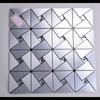 aluminium chrome silver mosaic