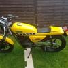 1986 rxs 100 flat tracker