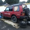 Land Rover 4x4 off road