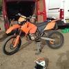 KTM Exc 250 registered