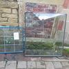 2X GLASS WINDOWS