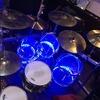 Pearl crystal beat with drumlite