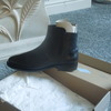 ladies lacoste black leather boots