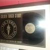 Golden torch LP framed