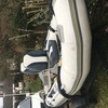 Avon rib boat and trailer