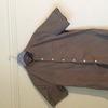 ASOS khaki grandad collar shirt