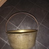 1830's solid brass jam pan