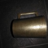 Antique solid brass tankard ww2