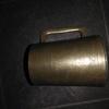Antique solid brass tankard ww2