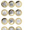 £2 coins circulated