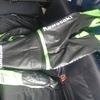 Suzuki 2 piece motorbike leathers
