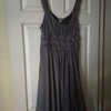 Gorgeous dress size 14, grey, H&M.