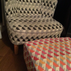 M&S Lounge chair with footstool